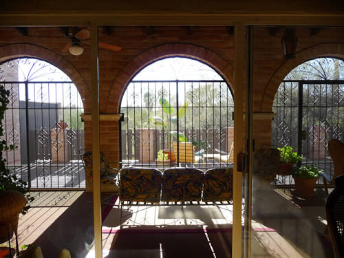 Arizona Room with View to Back Patio