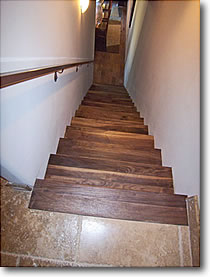 Walnut Stair treds