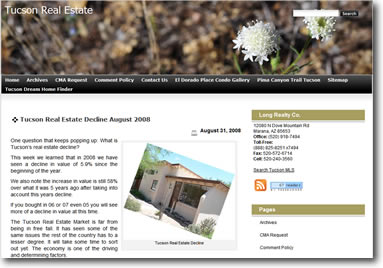 Tucson Real Estate New Theme