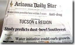 Tucson Papers Headlines